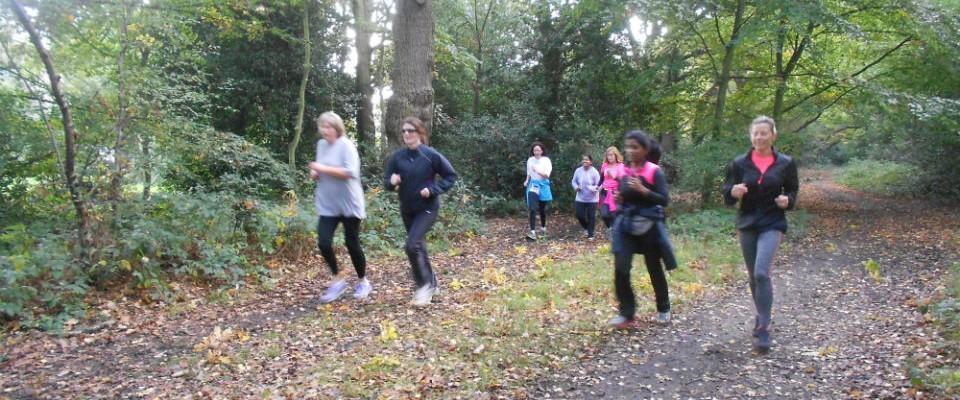 beginners running on the Common