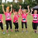 jumping for joy at the wimbledon common race 20 july 2014