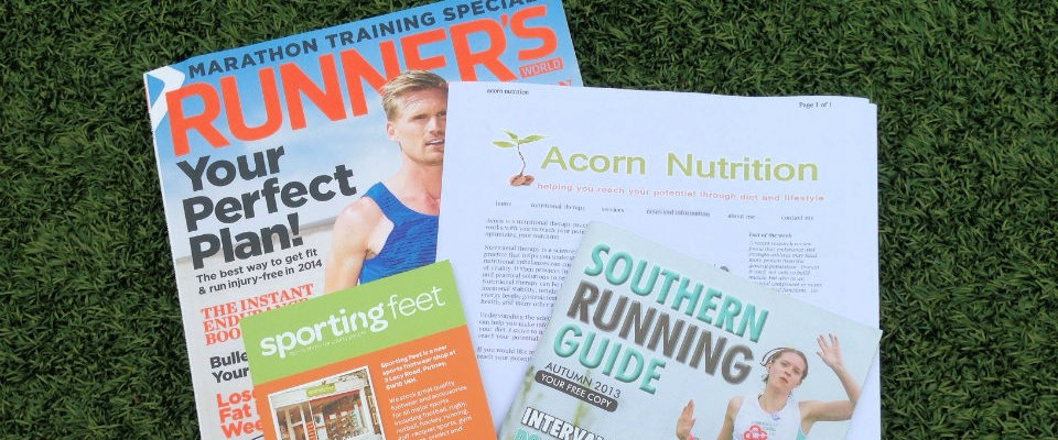 running gear info nutrition etc