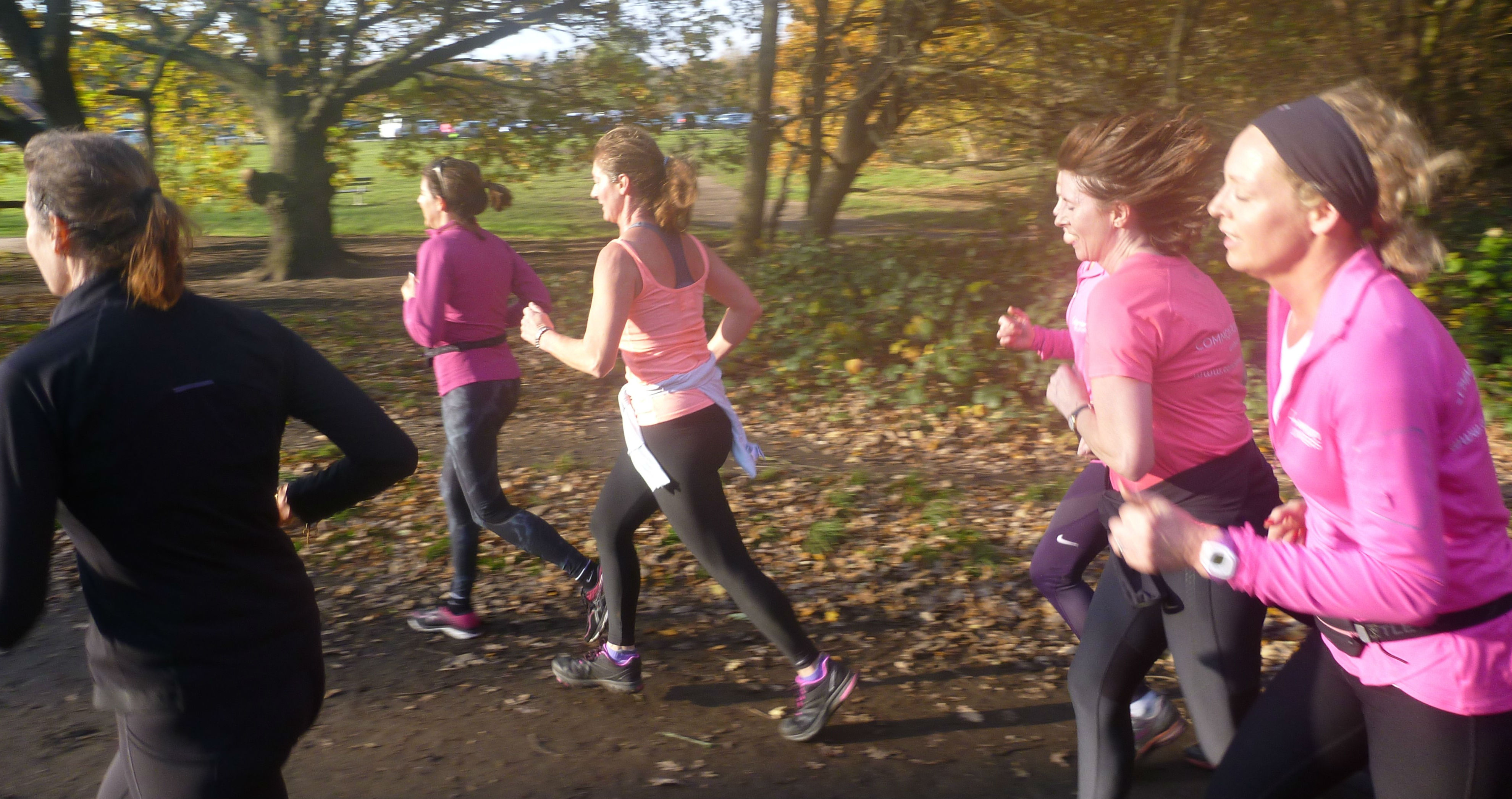 Angeline Ball Tits social runs: relaxed, enjoyable, for all abilities |